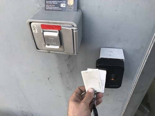 card reader access control system
