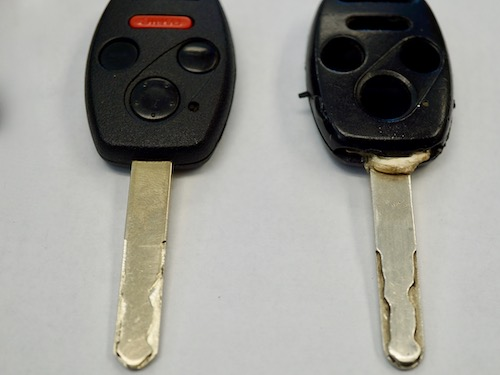 honda car key duplication