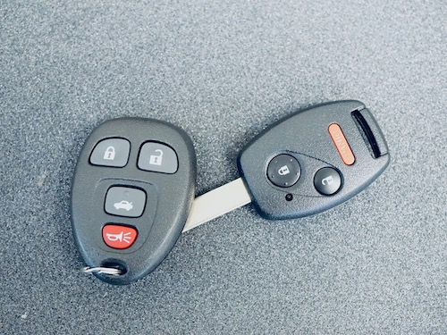 universal car remote with Honda car key