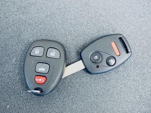 universal car remote with Honda car key