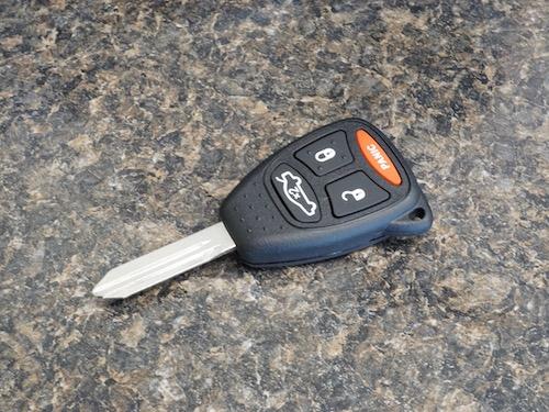remote head car key fob