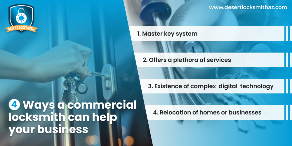 4 Ways A Commercial Locksmith Can Help Your Business