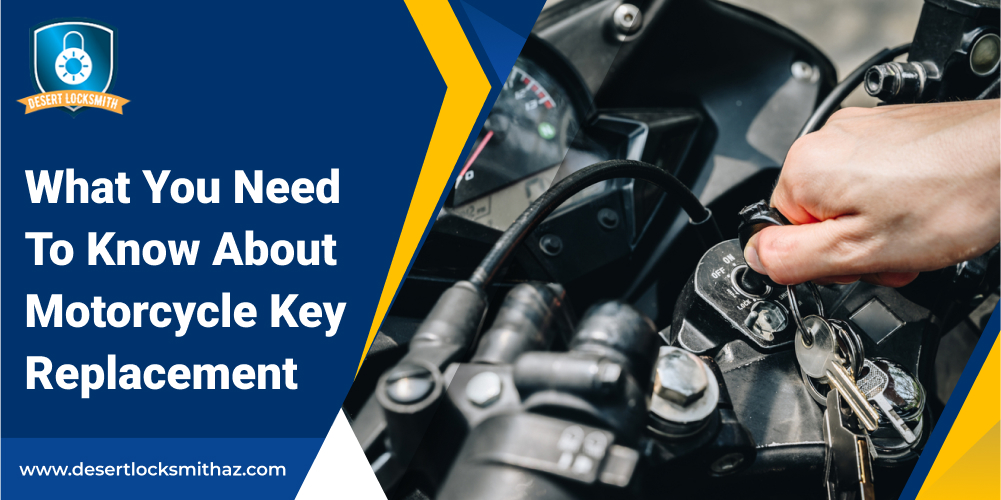 What You Need To Know About Motorcycle Key Replacement